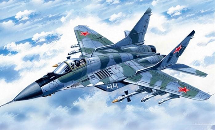 Вертикальный взлет легендарного истребителя МиГ 29 (видео)