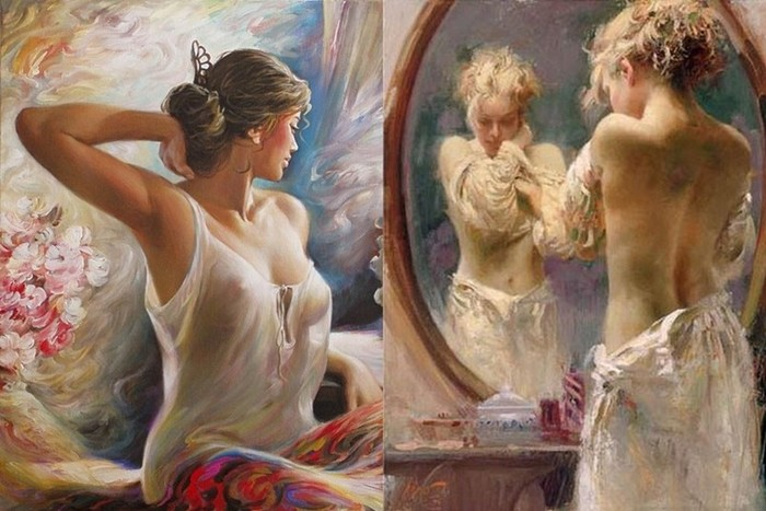Как рисовать женский портрет