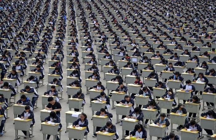 Как ужасно перенаселен Китай— примеры на фотографиях