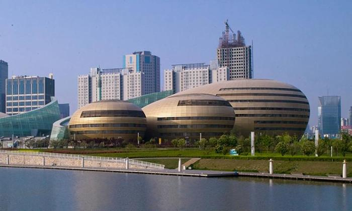 Самые космические здания Китая