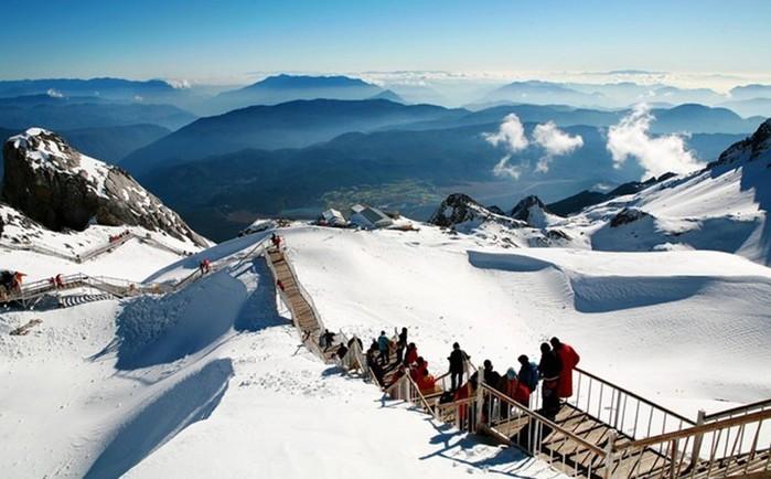 Знаменитые горнолыжные курорты Китая