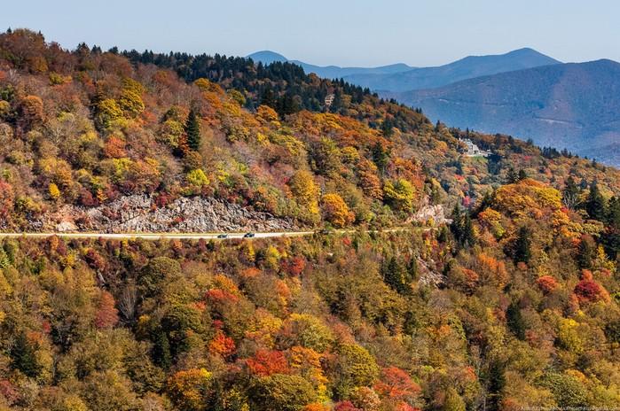Любимая дорога Америки— Blue Ridge Parkway