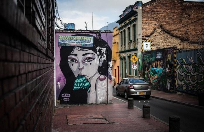 Какой в Колумбии стрит арт