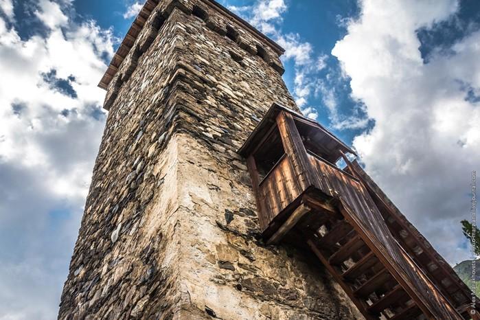Как устроена сванская башня— главный символ Грузии