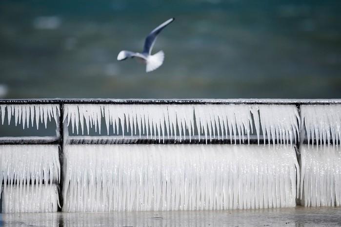 Снежный коллапс в Европе: холода и снегопады на фотографиях из разных стран