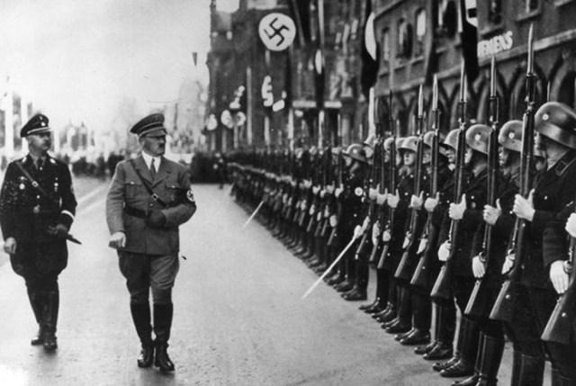 Кого брали в личную охрану Гитлера