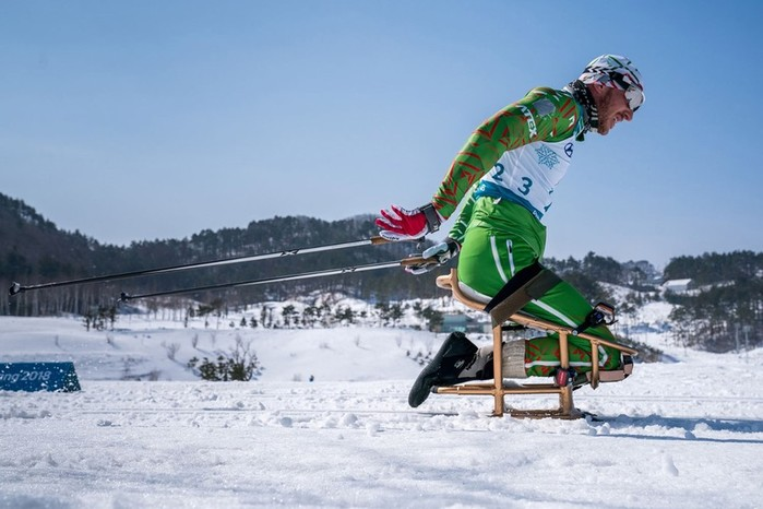 Фотографии сильных людей: Паралимпийские игры 2018 в Пхенчхане