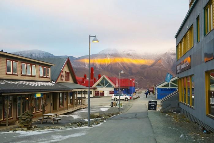 Самый северный город Лонгйир: фотографии путешествия