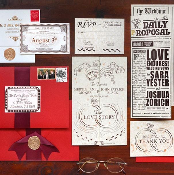 Оригинальные свадебные приглашения, от которых невозможно отказаться