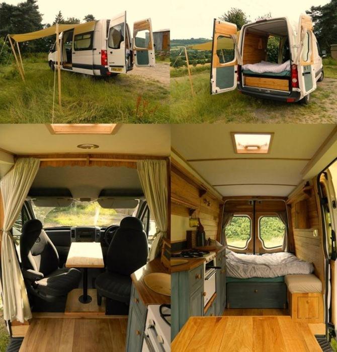 20 фургонов, которые способны заменить полноценное жилище: мини дома на колесах