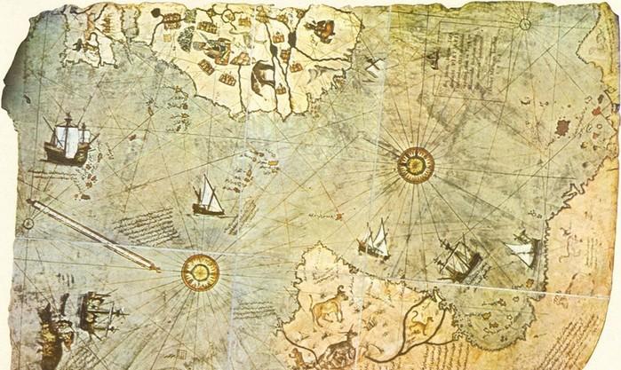 Тигры в Антарктиде: загадки странной карты Пири реиса