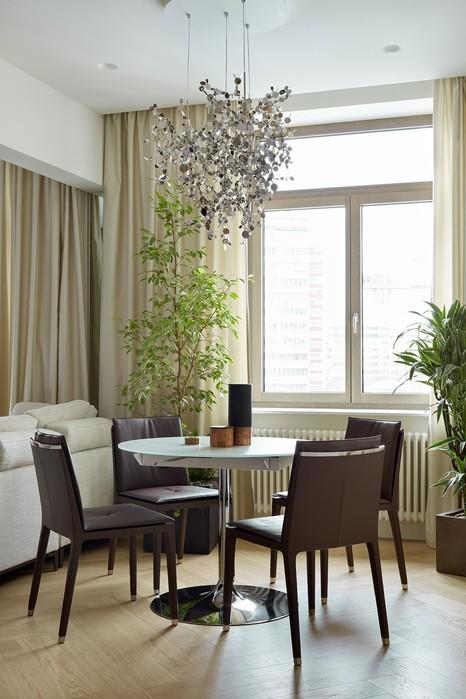 Интерьер квартиры площадью 105 квадратных метров в Москве