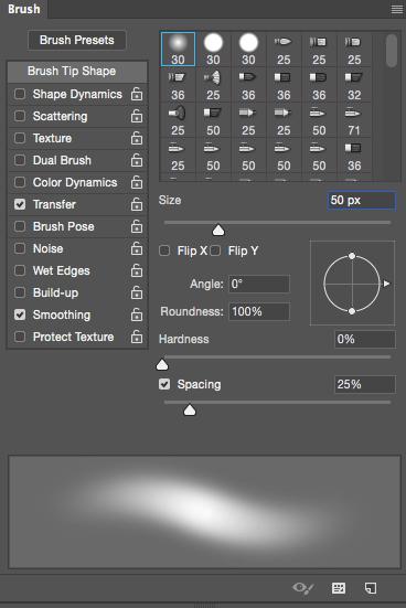 Как настроить кисти графического планшета