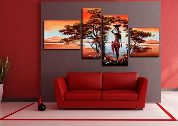 Как сделать оригинальные обои своими руками: составные фотообои (модульные картины) на стену