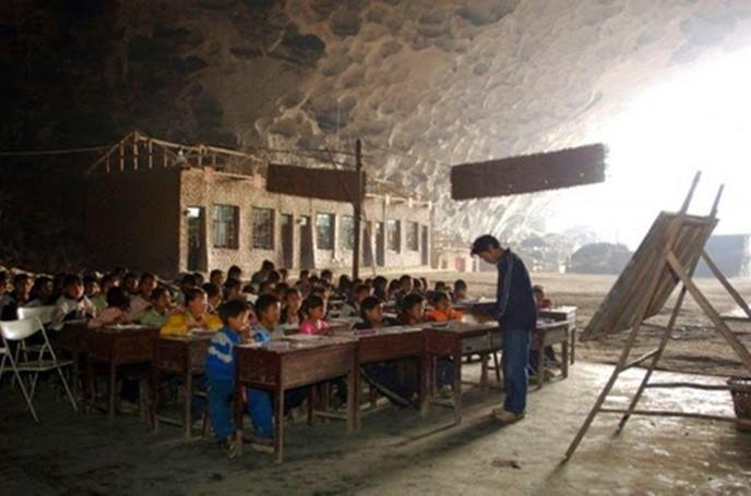 Самые необычные школы в разных странах