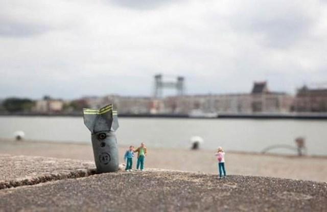 Страна маленьких людей Slinkachu