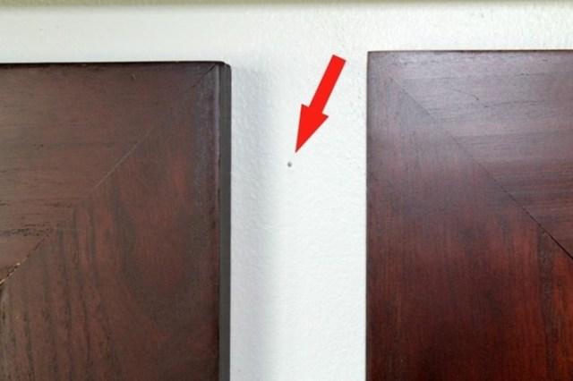 3 простых и эффективных способа, как скрыть отверстия от саморезов в стене