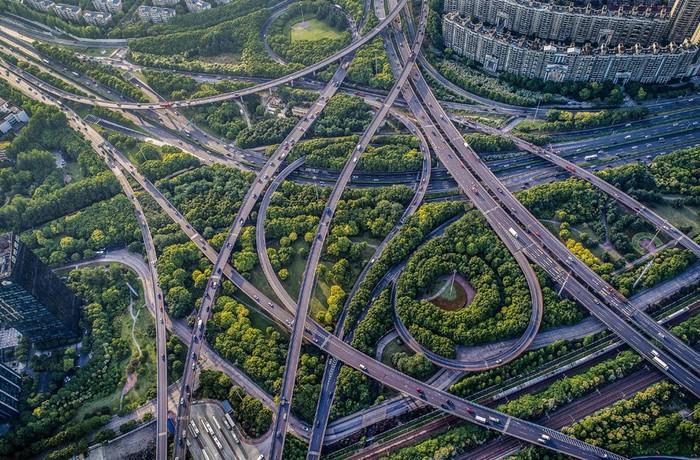 Красивые фотографии: Китай с высоты птичьего полета