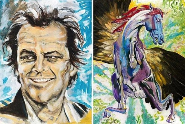 Эти знаменитости удивили своим скрытым талантом художников