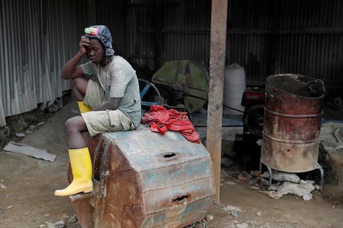 Жуткие фотографии, как в Конго добывают золото