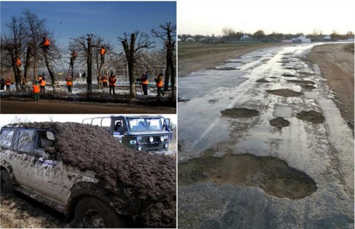 Суровая российская весна: 18 фото, на которых ясно видно, что это такое