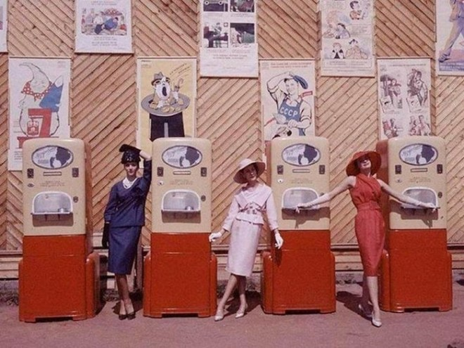 История вендинговых автоматов в СССР (фотографии)