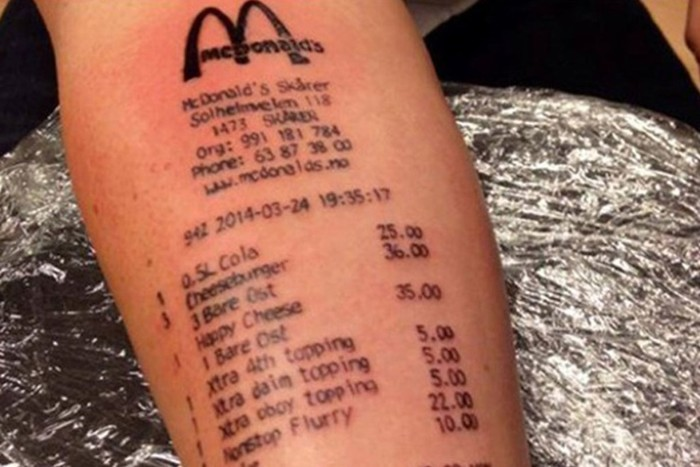 Уморительные татуировки, набитые по пьяни