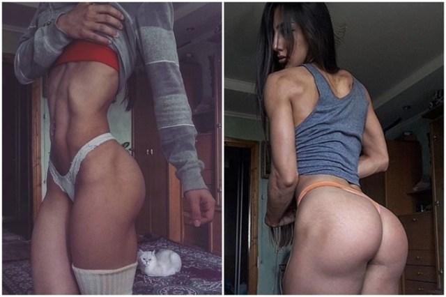 «Мисс железный зад»: горячая фитнес модель из Украины покорила Instagram