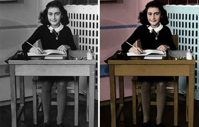 Нацизм   это страшно: фотограф раскрашивает старые снимки о Холокосте