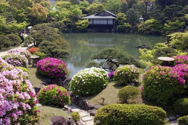 Отличие японского сада от европейского