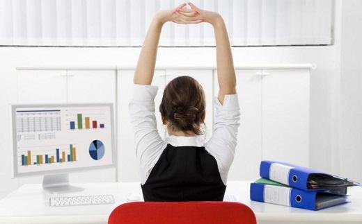 Три главных элемента офисной гимнастики