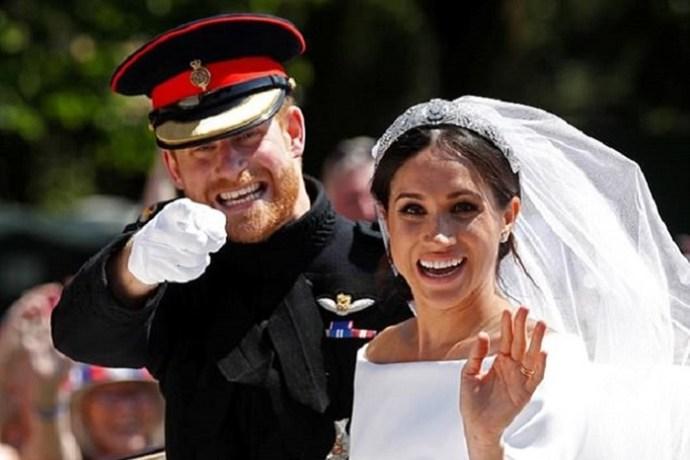 Как свадебный торт принца Гарри и Меган Маркл разрушил королевские традиции
