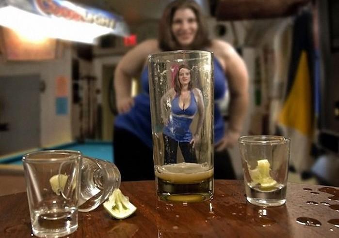 Как алкоголь добавляет женщинам привлекательности
