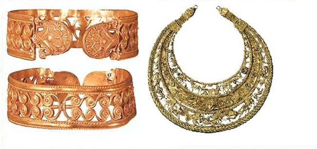 Ювелирные украшения в древние времена
