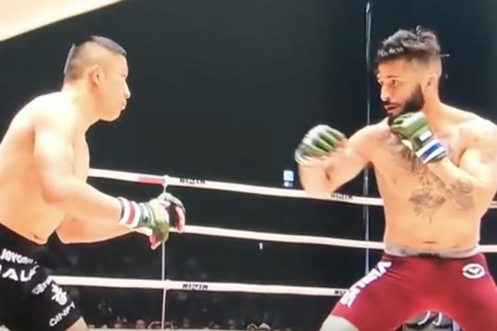 Как японский самурай «сделал» американца за 9 секунд в ринге