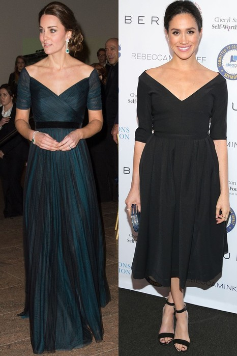 Почему Меган Маркл и Кейт Миддлтон одеваются как близнецы