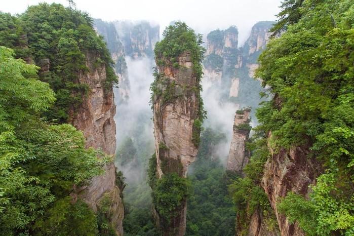 Сказочные места, реально существующие на нашей планете