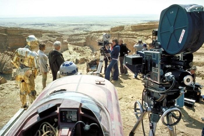 Создание «Звёздных войн»: фотографии 1977 года и видео