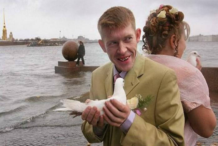 Чтобы прочувствовать всё «очарование» русских свадеб: очень колоритные снимки