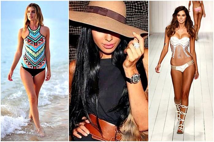 Босиком в лето: 15 главных тенденций пляжной моды, о которых должна знать каждая девушка