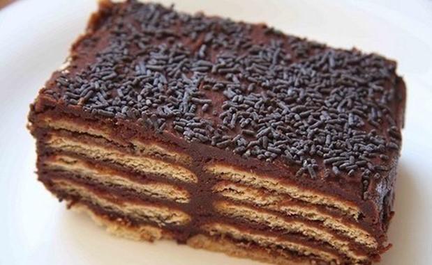 Торты из печенья без выпечки: 5 лучших рецептов