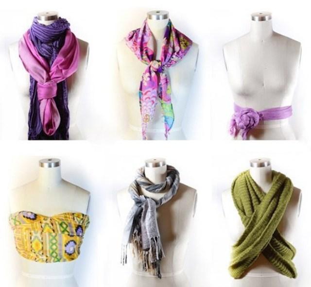 8 способов дополнить осенний образ с помощью шарфа
