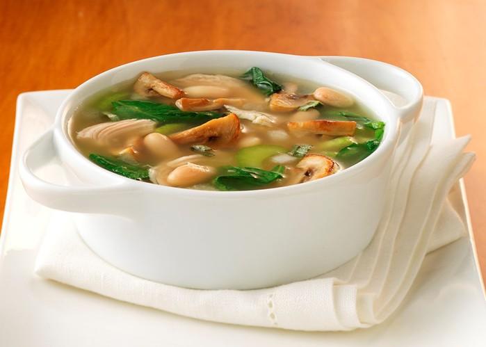Суп с грибами. Интересно...