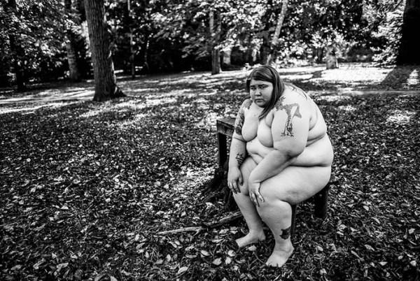 Американка превратила процесс своего похудения в фотоисторию