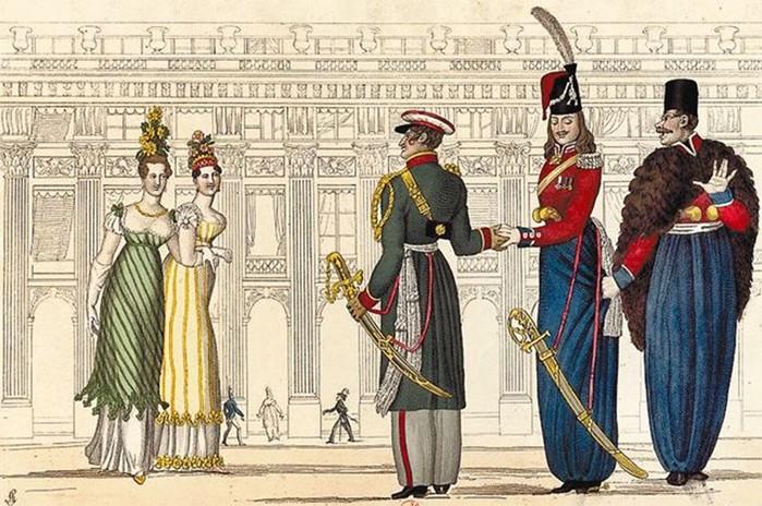 Почему дворяне в России говорили на французском?