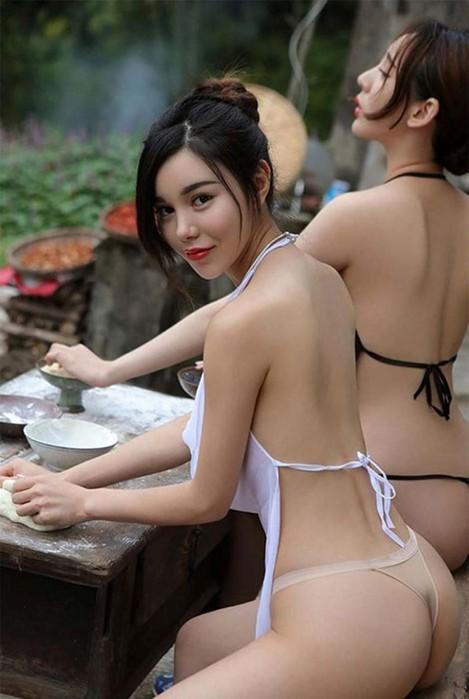 Красивые «деревенские» девушки из Китая оказались профессиональными моделями