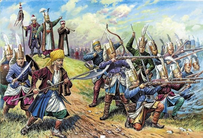 Янычары: элитные воины Османской империи