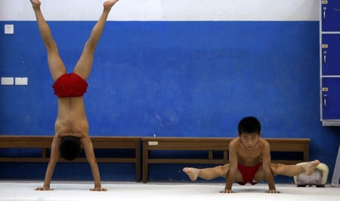 Китайская детская спортивная школа