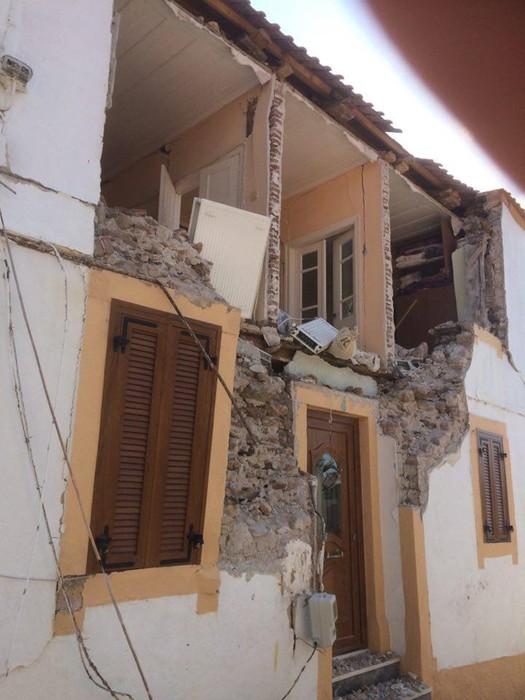 Последствия мощного землетрясения на о. Лесбос (Греция. Видео. Фото)