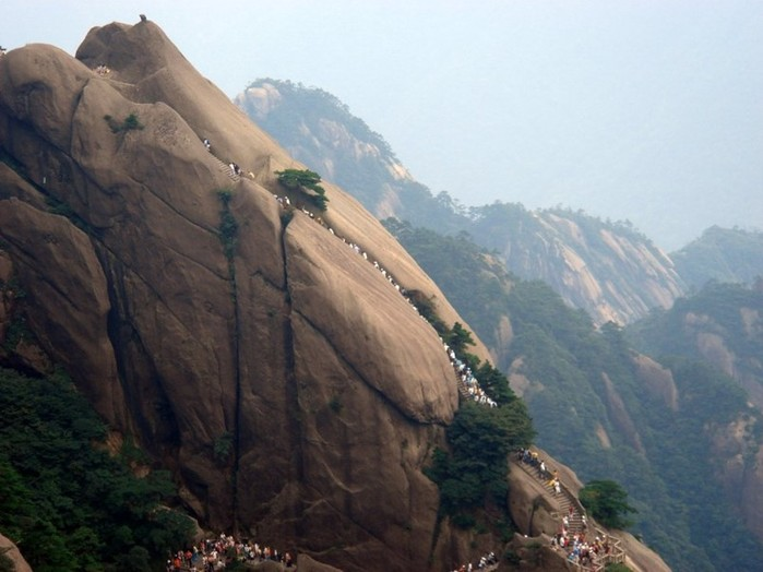 Гора Хуаншань (Желтые горы): фото и описание